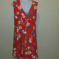 GAP FLORAL DRESS Retro Gap floral dress, trending now floral dress with leggings and ballerina fkats GAP Dresses Midi