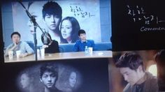 """CW """"it was too cold I just want to quickly get it done"""" ---- SJK """"why tomorrow? now is fine"""" CW totally agreed. SJK """"it's for the ratings. it's to make people curious""""  #문채원 #송중기 #moonchaewon #songjoongki #chaeki"""