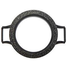 Large Black Wrap Bracelet Locket Base + Sparkle Face ❤️ Shop online anytime at crystalstary.origamiowl.com