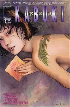 david mack comic covers | Kabuki 2 A, Dec 1997 Comic Book by Image