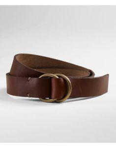 L.L.Bean Handsewn D-Ring Belt Men's