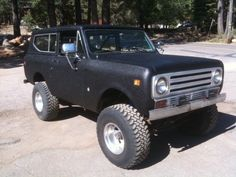 1972 International Harvester : Scout SUV 4X4