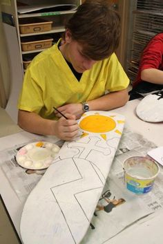 Have students design their personalized skateboard.