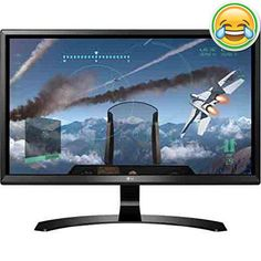 #wow Seeing is believing with the LG 24UD58 4k UHD #monitor. Whether your playing games, watching movies, or just reading from your screen, the 4k UHD display pr...