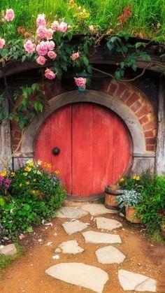 Cool Doors, Unique Doors, The Doors, Windows And Doors, Front Doors, Door Knockers, Door Knobs, Portal, Garden Gates