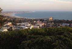 View from the Cross overlooking Ventura county.