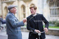 James Norton 'Grantchester' TV programme filming, Cambridge, Britain - 03 Sep 2015