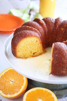 Orange Juice Cake - Southern Bite Orange Juice Cake, Orange Bundt Cake, Food Cakes, Cupcake Cakes, Bundt Cakes, Cupcakes, Cake Mix Recipes, Dessert Recipes, Desserts