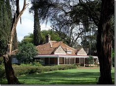 Karen Blixen's house in Kenya