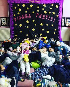 Pijama partisi,pajamas party