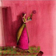 """Gaëlle Boissonnard : Carte """"un plateau de bonheur"""""""