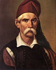"""Nikitaras was the nom de guerre of Nikitas Stamatelopoulos – a Greek revolutionary in the Greek War of Independence. Due to his fighting prowess, he was known as Tourkofagos, literally means """"Turk-Eater"""". Greek Independence, Greek Men, Greek Warrior, Greek History, The Turk, Simple Minds, In Ancient Times, Revolutionaries, Greece"""