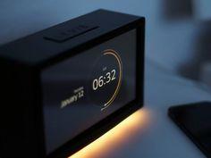 Alarm Clock concept by Andreas Frank, via From up North
