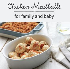 Easy Family Meals, Family Recipes, Quick Easy Meals, Baked Chicken Meatballs, Homemade Tomato Sauce, Skewers, Finger Foods, Rolls, Pasta