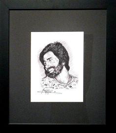 Massimo Capogna - Artist: Roller Tip Pen 0.5mm   Ritratto di Zio Angelo.