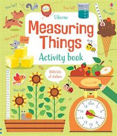 Buy Measuring Things Activity Book by Lara Bryan at Mighty Ape NZ. Learn about all kinds of measuring with this entertaining activity book, including length, perimeter, volume, mass and time. Puzzles include working o. Subtraction Activities, Science Activities, Times Tables Practice, Math Books, Maths Puzzles, Fun Math, School Fun, Primary School, Paperback Books