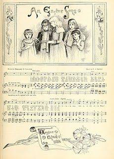 Heartwarming Vintage Printable Easter Children with Music. This was re-posted as the link was broken