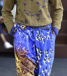 patternprints journal: PRINTS, PATTERNS, TEXTURES AND TEXTILE SURFACES FROM MENSWEAR S/S 2016 COLLECTIONS / PARIS CATWALKS 2
