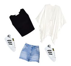 Summer days by esthercerra on Polyvore featuring polyvore, fashion, style, Kendall + Kylie, adidas and clothing