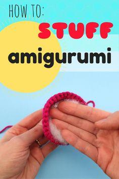 How to stuff amigurumi by @hookabee