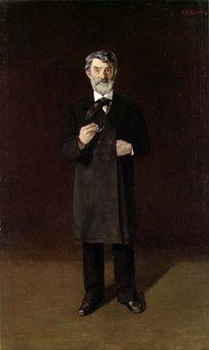 Statsminister Johan Sverdrup by Christian Krogh