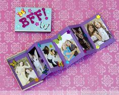 Matchbox Mini Photo Album - Fun idea for a kid craft!