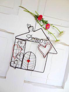 Dekorácie - Tam,kde je domov,býva láska♥...