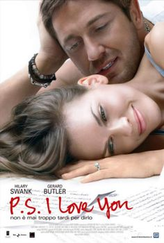 I Love You makes me cry every darn time! Darn you Gerard Butler for not only being ridiculously good looking but so good in this character. I love Gerard Butler and Hilary Swank in this amazing love story I Love You Film, Loving You Movie, Ps I Love You, Gerard Butler, Beau Film, See Movie, Movie Tv, Image Internet, I Love Cinema