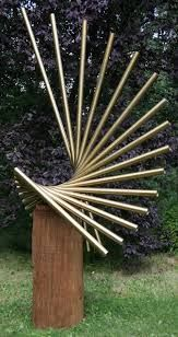 Znalezione obrazy dla zapytania chelsea flower wall corten sculpture