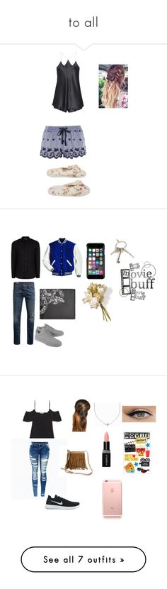 """""""to all"""" by maddijo-1 on Polyvore featuring Topshop, Olivia von Halle, Deluxe Comfort, Topman, Jack & Jones, Filling Pieces, County Of Milan, Givenchy, National Tree Company and men's fashion"""