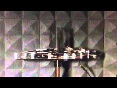 This is a video of my beamforming antenna array operating inside an anechoic chamber.