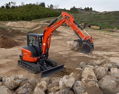Kubota Tractor Corporation - Construction Equipment   KX Series   KX057-4 Compact Excavator