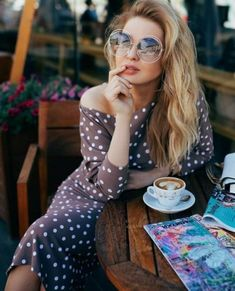 Shop Floryday for affordable Swimwear. Coffee Girl, Coffee Love, Coffee Break, Coffee Shop, Parisian Cafe, Ukraine Girls, Good Morning Coffee, Girl Photography Poses, Madame