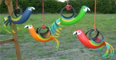 recycled tires ideas   100 Recycled Gift Ideas - Creative Ways to Turn Old Goods into ...