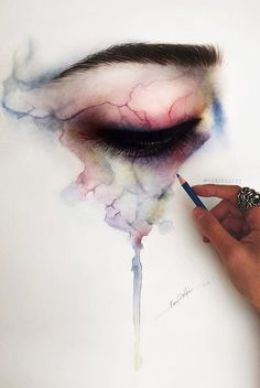 Most popular tags for this image include: art, eye, drawing, draw and eyes