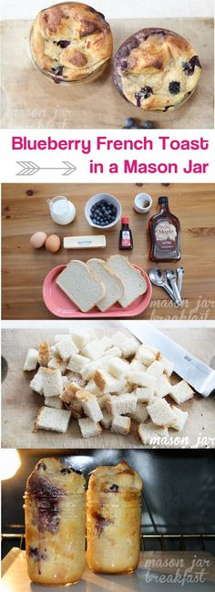 Never knew you could make French Toast in a Mason Jar! Definitely have to try this recipe