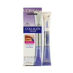 L'Oreal Creme de colageno preenche rugas Skin Expertise Collagen Filler Lip: Anti-Feathering Cream 6ml/0.2oz + Soro volumizador  Plumping Serum 6ml/0.2oz  2x6ml/0.2oz