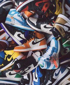 What is your favorite Air Jordan I? Jordan Shoes Wallpaper, Sneakers Wallpaper, Nike Wallpaper, Air Jordan Retro, Tenis Nike Air, Zapatillas Nike Air, Nike Air Shoes, Air Jordan Sneakers, Jordans Sneakers