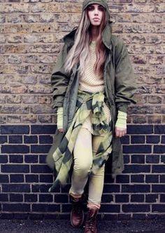 Grunge Glam Fashiontography