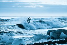 Brendon Gibbons reverts to holistic medicine instead of taking a chill pill. #surfing #iceland #surf