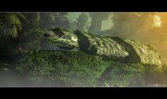 Derelict Spaceship :D