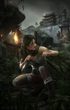 """Upcoming Action Adventure Game 38/""""x24/"""" Poster 008 Rise of The Tomb Raider"""