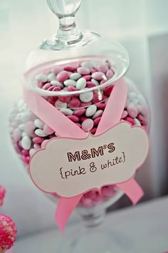 Boobie Bash: Sweet idea for breast cancer awareness Cancer Free Party, Breast Cancer Party, Breast Cancer Fundraiser, Breast Cancer Crafts, Christening Dessert Table, Christening Party, Baptism Party, Baptism Ideas, Pink Out