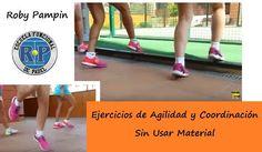 Ejercicios de Agilidad SIN Usar Material Extra #padel http://blgs.co/7NQIl1