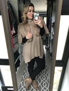 #wavy #blonde #makeup #fur #camel #jersey #black #pants #boots #red #nailpolish #imageconsultant #stylist #personalshopper #motivationalspeaker #saimage