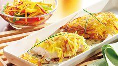 Schnitzel mit Kartoffelkruste (Quelle: TLC Fotostudio)