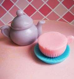 Lavender Tea Party Soap Set by LoveLeeSoaps on Etsy, $7.00