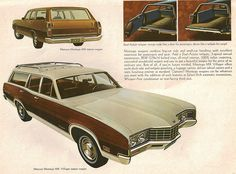 1971 Mercury Montego MX Villager Wagon Bmw Touring, Station Wagon Cars, Mercury Montego, Old American Cars, Edsel Ford, Woody Wagon, Mercury Cars, Car Brochure, Car Advertising