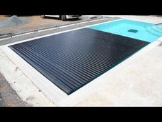 Automatic swimming-pool cover by Macek a syn - YouTube