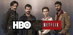 Los protagonistas de El Ministerio Del Tiempo si la comprara HBO o Netflix